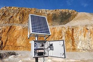 monitoreo de vibraciones con sismografos
