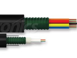 Cable de fibra óptica dieléctricode Optronics para transmisión de datos