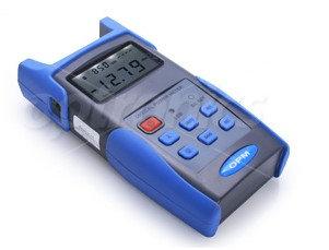 Medidor de potencia de fibra óptica deOptronics modelo OPEM3216