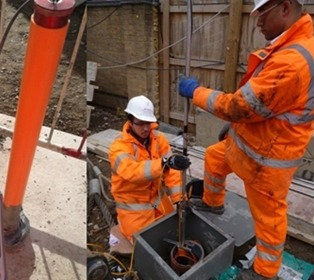 Servicio de instalación de piezómetros de cuerda vibrante en presas de relaves, taludes, pozos de producción mineros en Perú