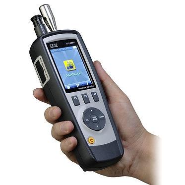 Contador de partículas modelo DT9880 para detectar el nivel de contaminación del aire