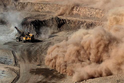 Control de las emisiones de polvo en la industria minera