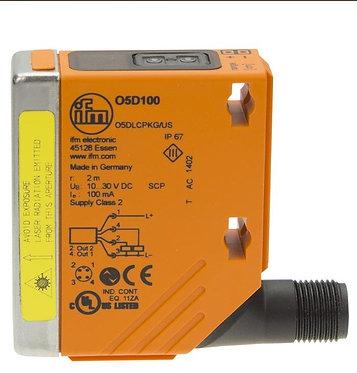 Sensor de distancia láser de ifm electronic modelo O5D100