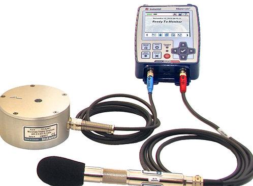 Sismógrafo de 04 Canales (Geófono Triaxial y Micrófono) Micromate de Instantel