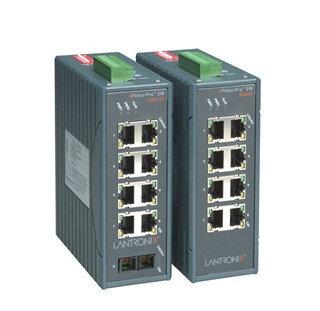 Switches  Ethernet industriales de 8 Puertos XPress-Pro SW-Lantronix en Lima Peru