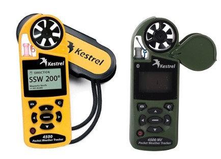 Anemómetro portátil digital modelo Kestrel4500  para la medición de viento, temperatura, humedad, punto de rocio