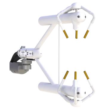 Sensor para medir flujo de calor, vapor y CO2 -Gases del efecto invernadero