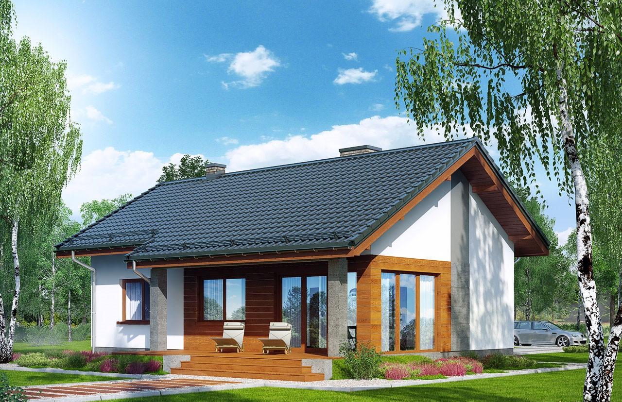 """Проект одноэтажного дома """"в Липках"""""""