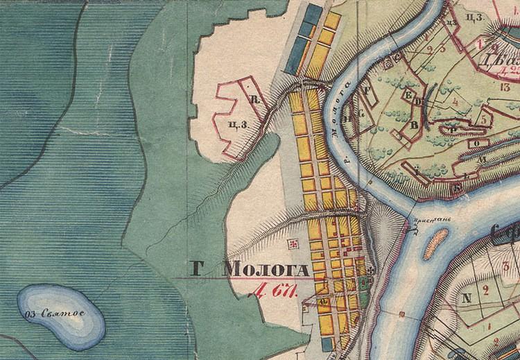 Карта Мологи