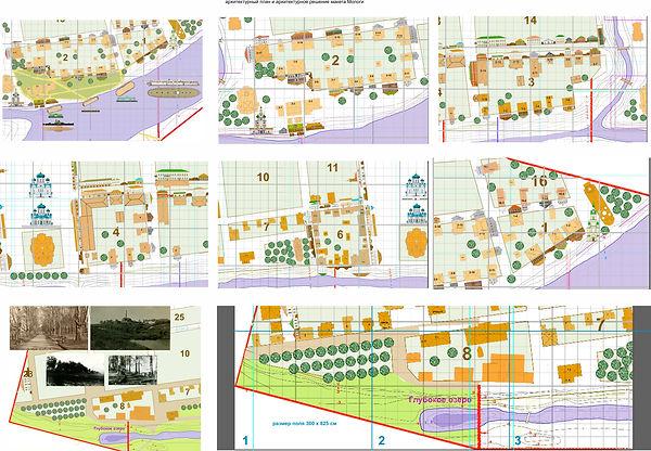 архитектурный план и архитектурное решен
