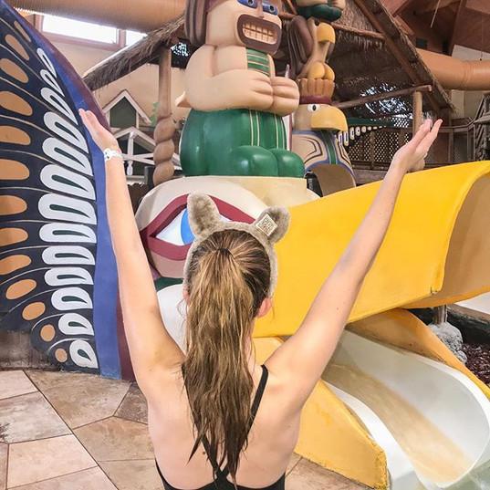 Saying goodbye to the slides, waterfalls