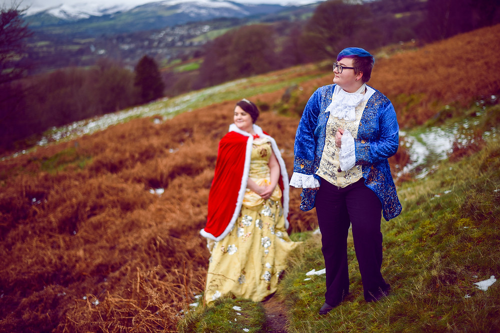 Beauty and the Beast Photoshoot Sheffield