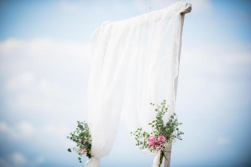 Esküvői boldogságkapu
