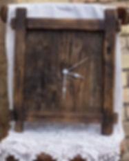 Öregfából készült falióra