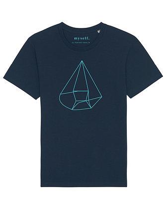 myself.  Navy T-shirt