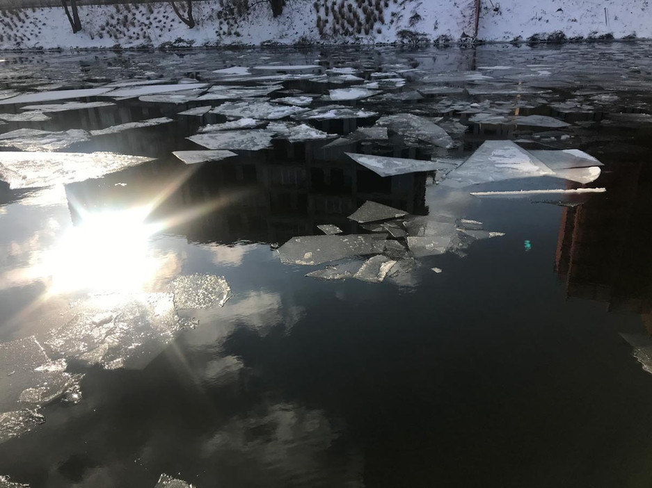 Sun reflexion