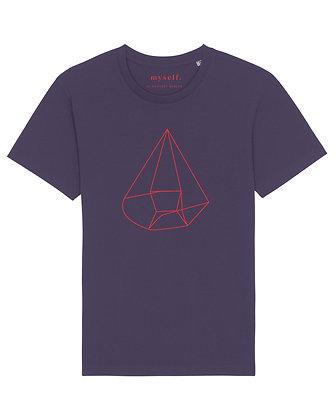 myself. Plum T-shirt