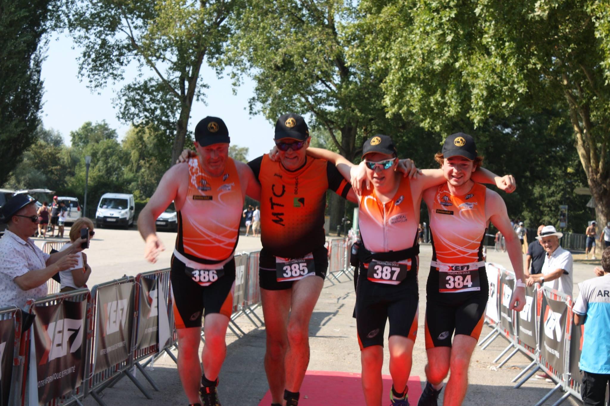 XEFI triathlon Dole