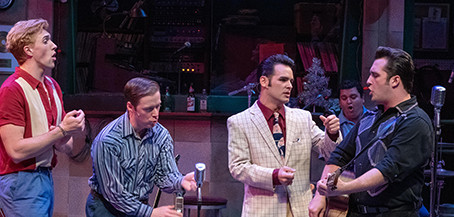 Audiences Agree… MILLION DOLLAR QUARTET Rocks Opening at Marian Theatre