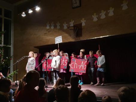 Schulweihnachtsfeier der Eiderschule Pahlen