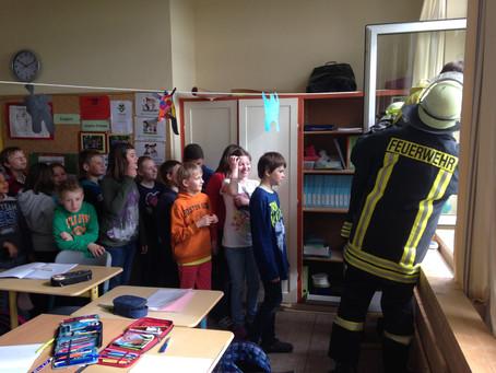 Brandschutzübungen in Dellstedt und Pahlen