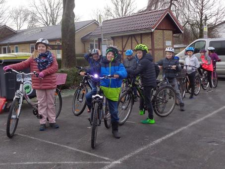Fahrradprüfung in Dellstedt