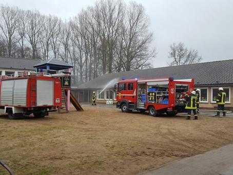 Feueralarm zur Übung in Dellstedt