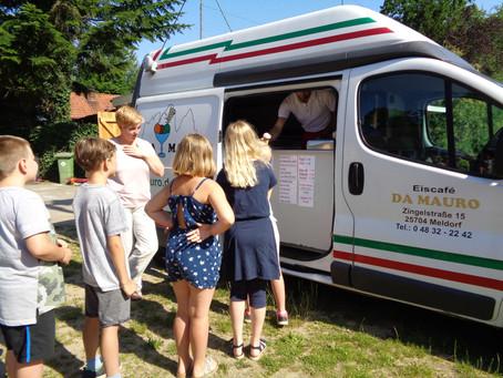 Eiswagen für plietsche Kinder