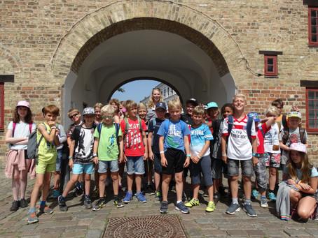 Klassenfahrt nach Glücksburg