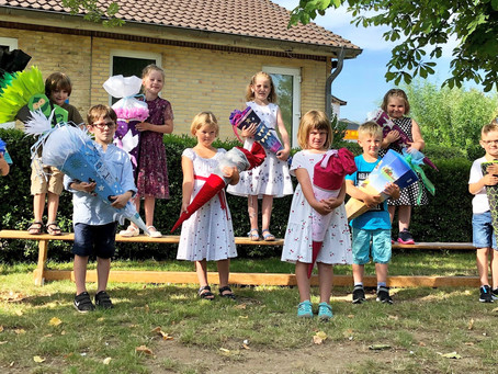 Einschulung an der Eiderschule Dellstedt