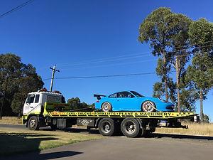 Tow Truck Towing Tilt Tray Sydney Wetherill Park Prestons Smithfield