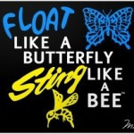 """Float like a Butterfly, Sting like a Bee"" (acupuncture & relaxing within action – part 1)"