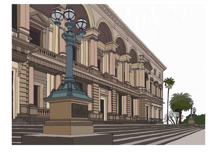 Old Treasury Building, Melbourne, Victoria