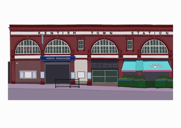 Kentish Town Station, NW5