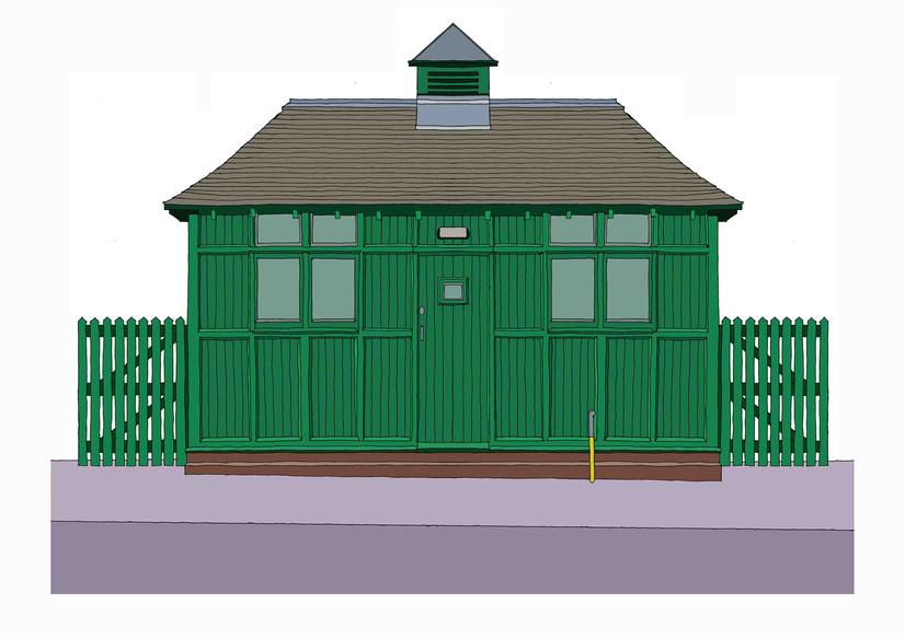 Cabmans Shelter, Chelsea Embankment