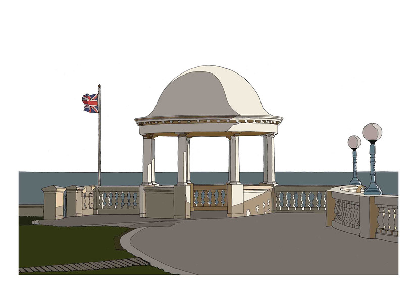 Seafront Shelter, Bexhill on Sea