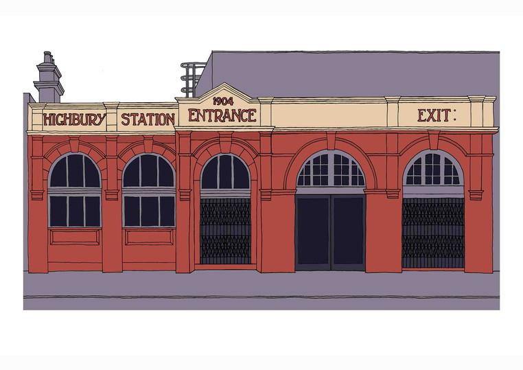 Highbury Station, N5