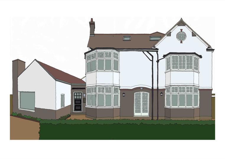 House, Corringham Road, NW11