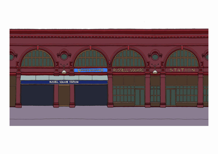 Russell Square Tube Station, WC1
