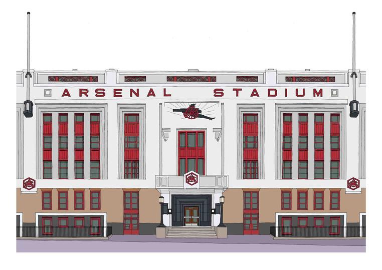 Arsenal Stadium (Highbury), N5