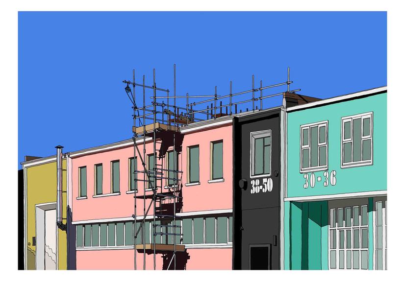 Roofline, Pritchards Road, E2