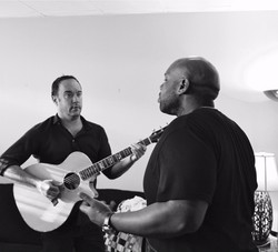 collaborating with Dave Matthews