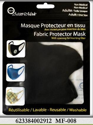 Masque facial pour adultes tissu chic  sans valve