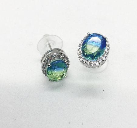 Boucles d'oreilles Turquoises