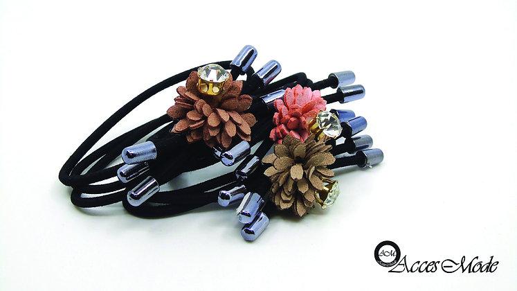 Élastique fleurs