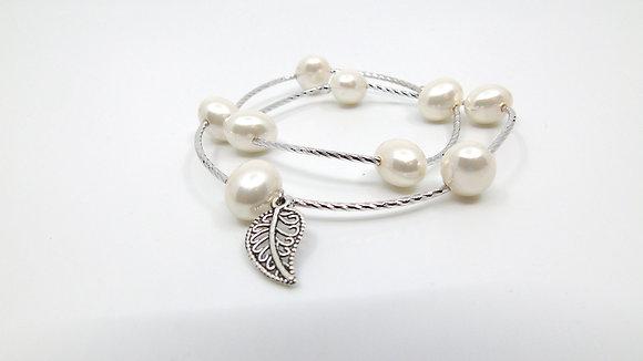 Bracelet perles 3 couleurs