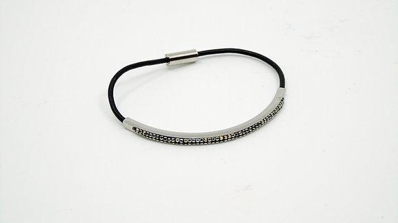 Bracelet mi-cuir