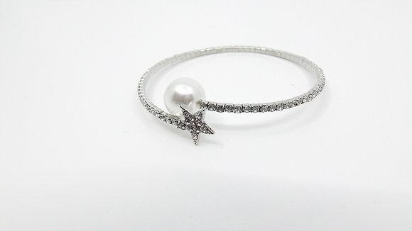 Bracelet Perle et Étoile