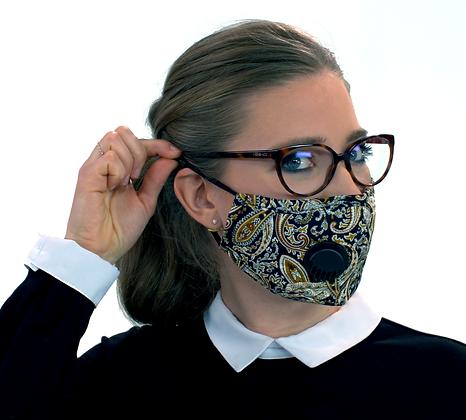 Masque facial pour adultes avec valve MF-26