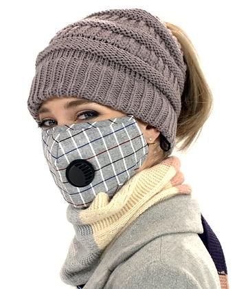 Masque facial pour adultes avec valve MF-34
